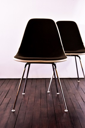 Eames, Herman Miller, fiberglass chair , Charles & Ray Eames