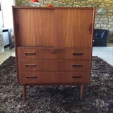 Tibergaard highboard in teak
