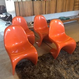 SET OF 4 PANTON CHAIRS