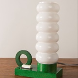 LITTLE TABLE LAMP IN GREEN