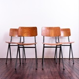 SET OF 4 CHAIRS 202 BY MARKO HOLLAND