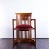 BARREL CHAIR BY F.L. WRIGHT