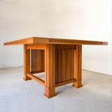 HUSSER TABLE BY FRANK LLOYD WRIGHT