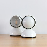 PAIR OF ECLISSE LAMPS PY VICO MAGISTRETTI