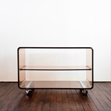 SIDE TABLE ON WHEELS