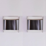 PAIR OF STAFF WALL LAMPS DESIGNED BY R. KRUEGER & D. WITTE