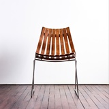 SCANDIA CHAIR IN ROSEWOOD DESIGNED BY HANS BRATTRUD